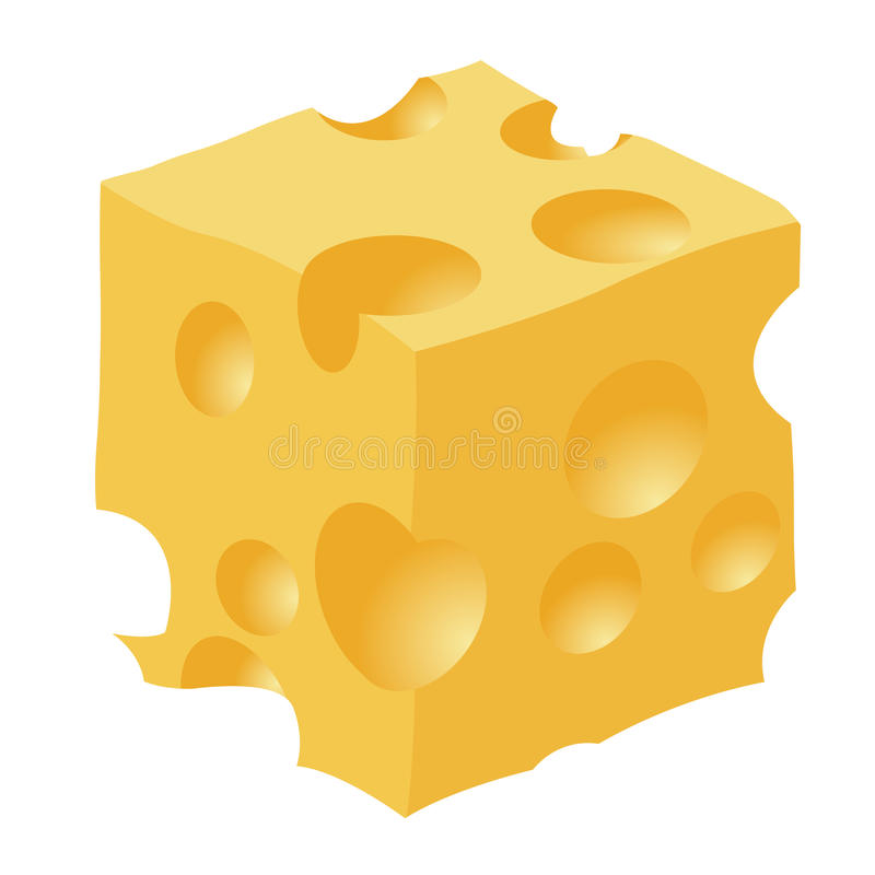 Piece Of Cheese Royalty Free Stock Photography