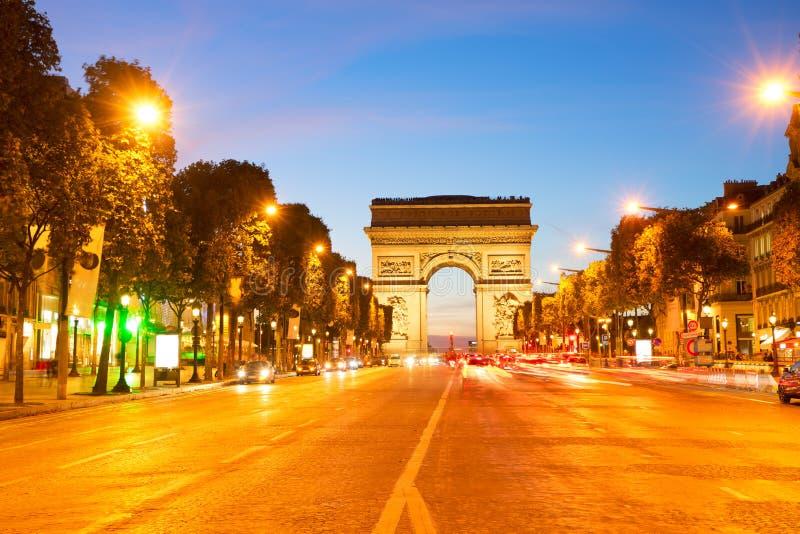 piece de France Paris triomphe obrazy stock