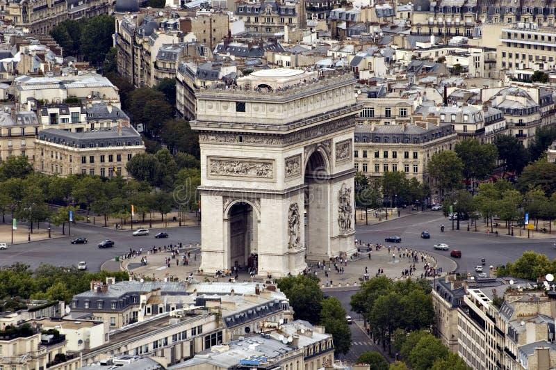 piece De Triomphe widok obraz royalty free