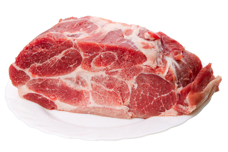 Download Piece of frozen meat stock image. Image of beef, thigh - 23642939