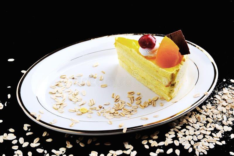 A piece of fruit cake