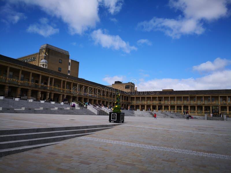 Piece Hall Halifax West Yorkshire. United Kingdom amazing architecture England UK royalty free stock images