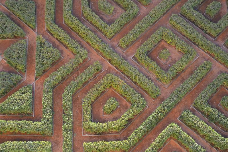 piece of labyrinth stock image