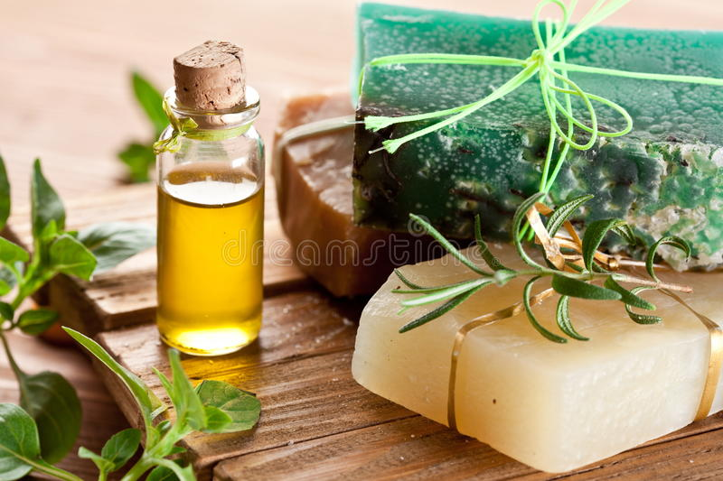 Download Piece of natural soap. stock photo. Image of green, bath - 24515674