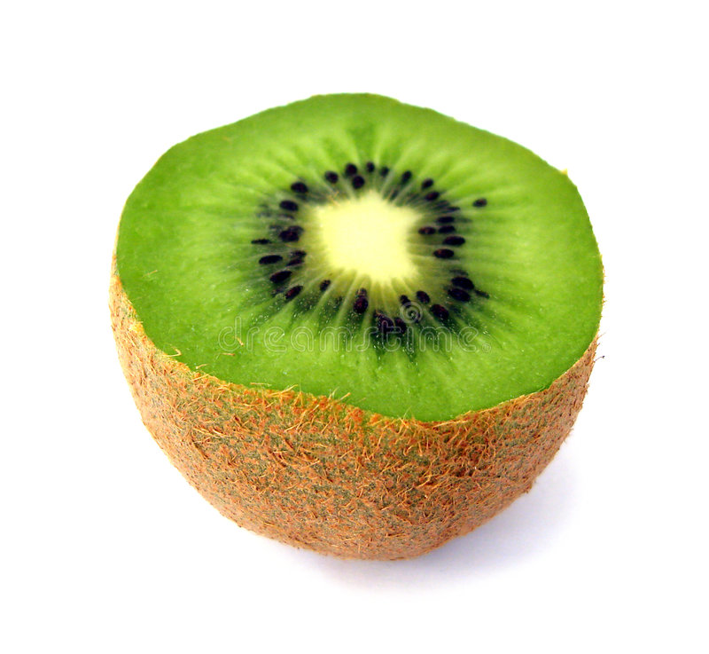 Free Piece Of Kiwi Isolated Royalty Free Stock Image - 3279386