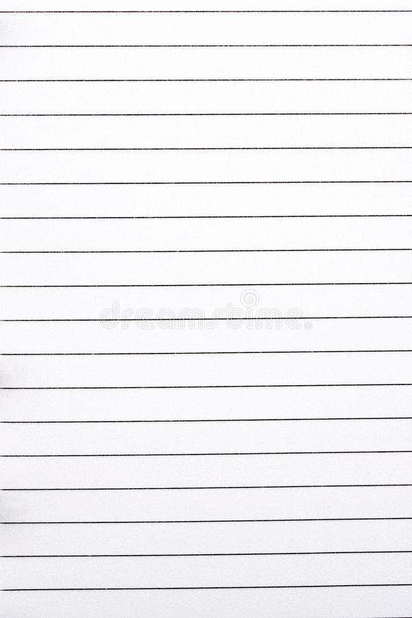 piece of paper in lines  a background stock image