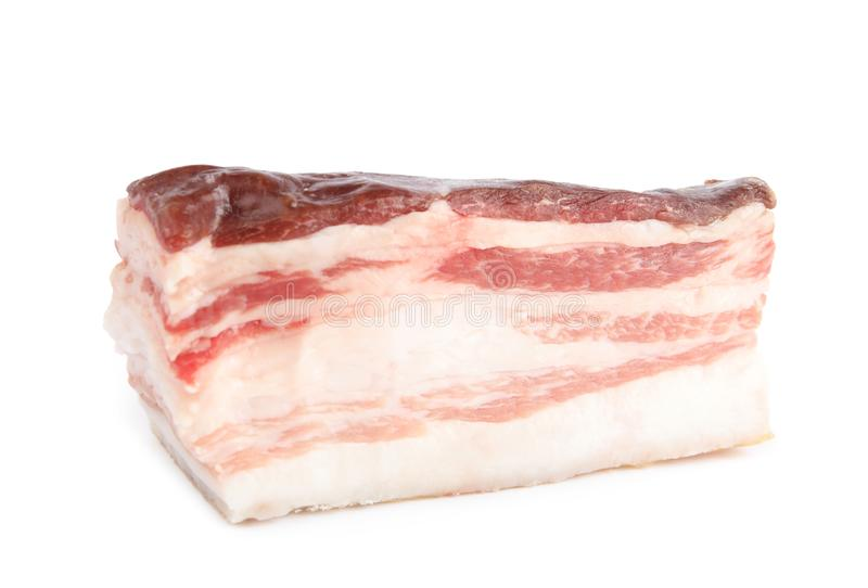 Piece of tasty bacon  stock images