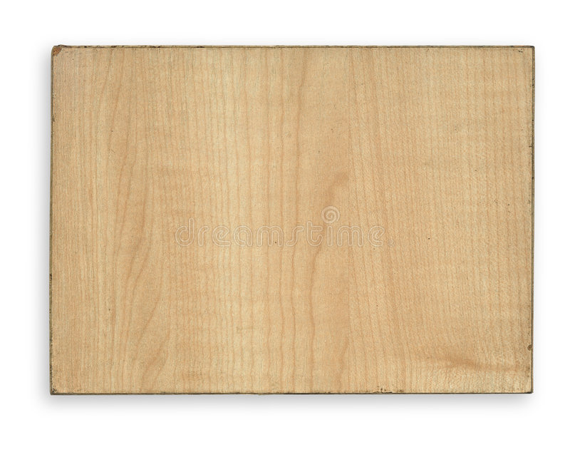 Piece of wood with rim stock image backcloth