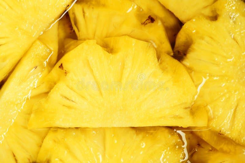 pieces ananas royaltyfri fotografi