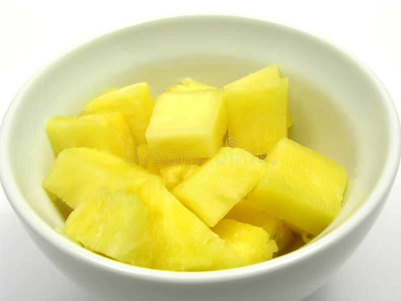 pieces ananas royaltyfria foton