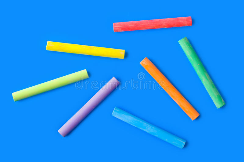 Pieces Of Chalk Royalty Free Stock Photos