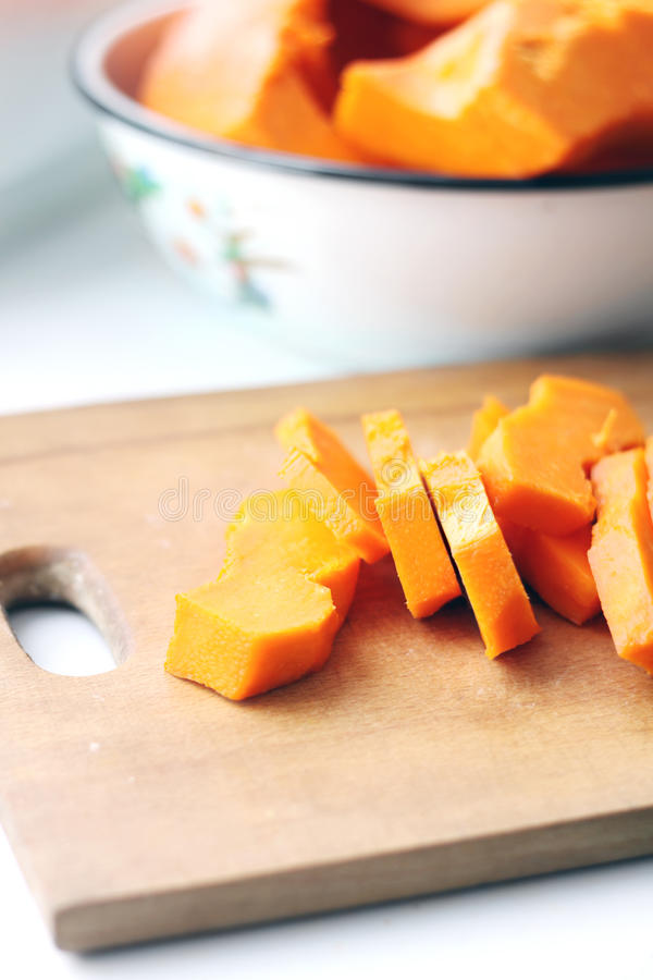 Download Pieces Of Fresh Raw Pumpkin Stock Photo - Image: 23092694
