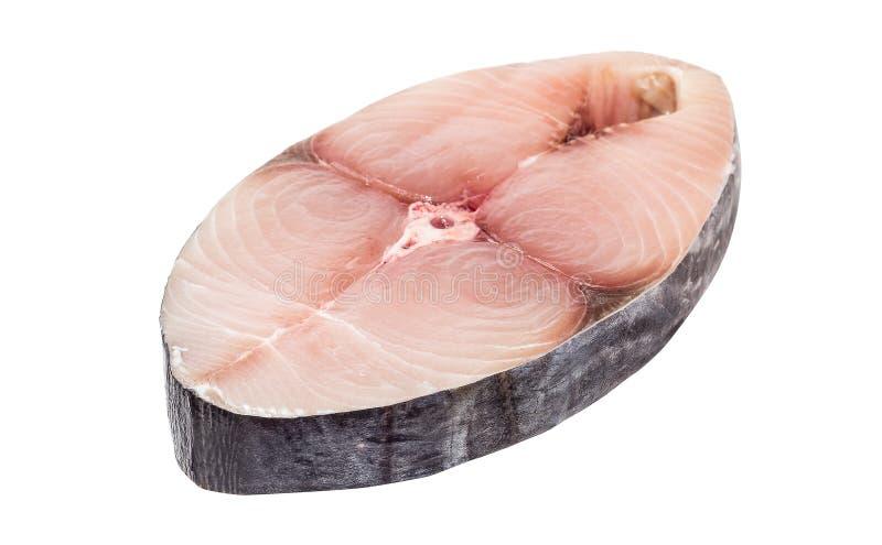 Pieces of king mackerel fish slice royalty free stock photos
