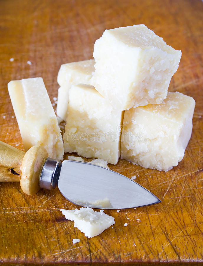 Free Pieces Of Parmesan Royalty Free Stock Photography - 20535287