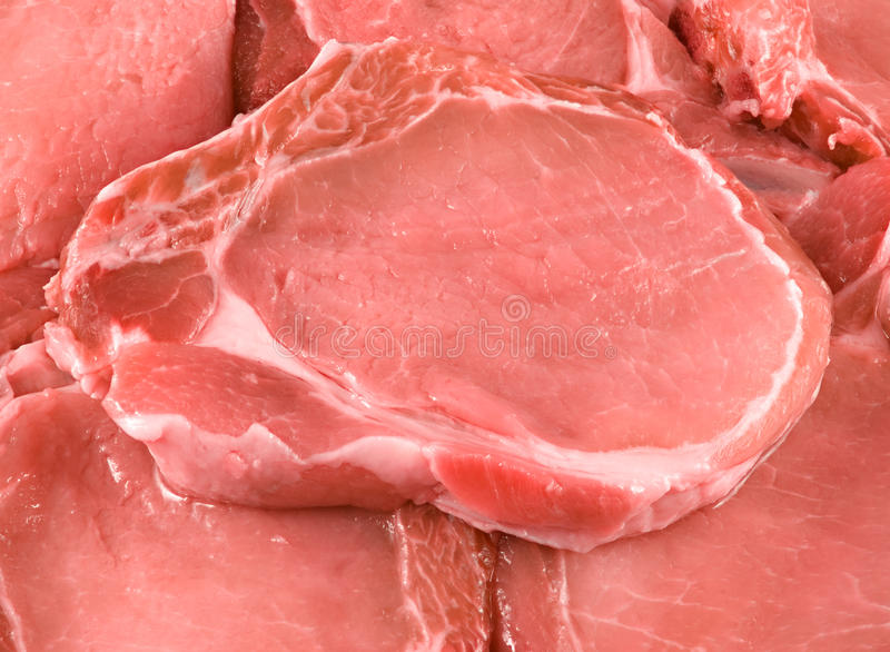 Download Pieces of pork. stock image. Image of board, cooking - 36055265