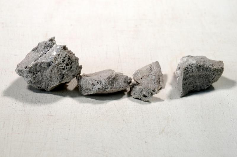 Pieces of pumice. royalty free stock photo