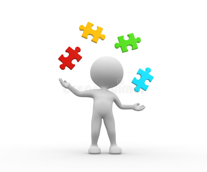 Download Pieces Of Puzzle Royalty Free Stock Photography - Image: 37800647