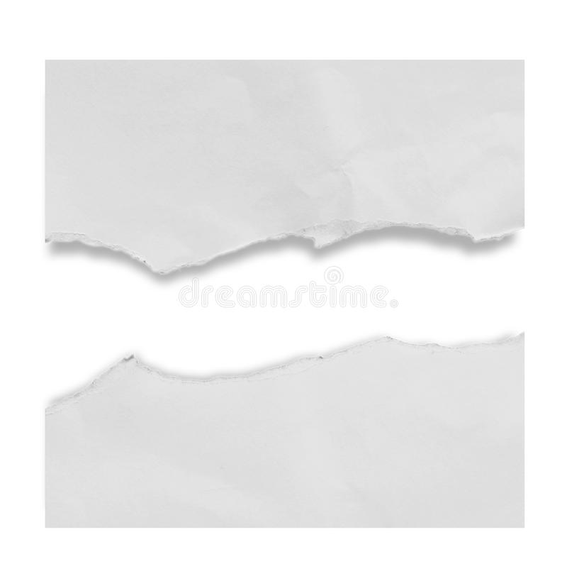 Torn rip paper royalty free stock photo