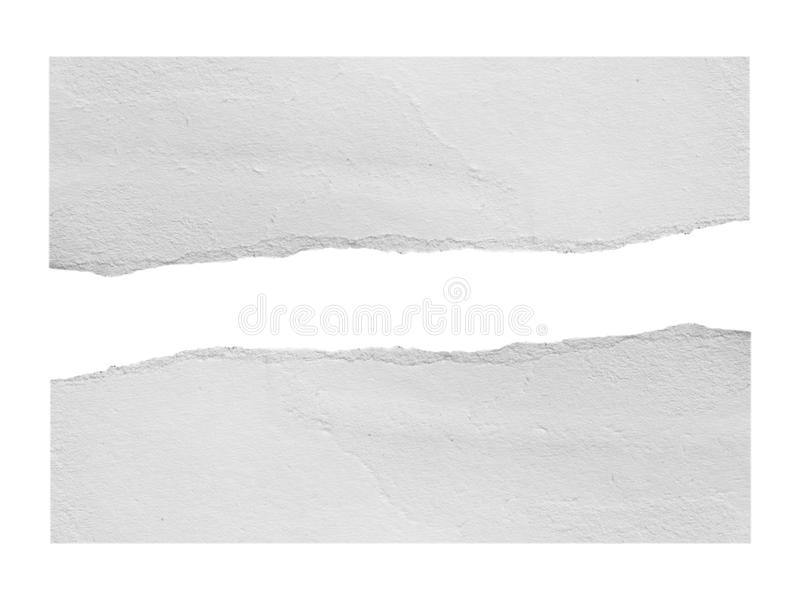 Torn rip paper royalty free stock photography