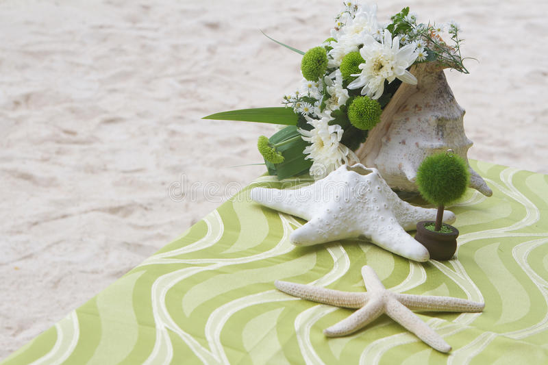 Piecetable Center Piece. Table Decoration Royalty Free Stock Image