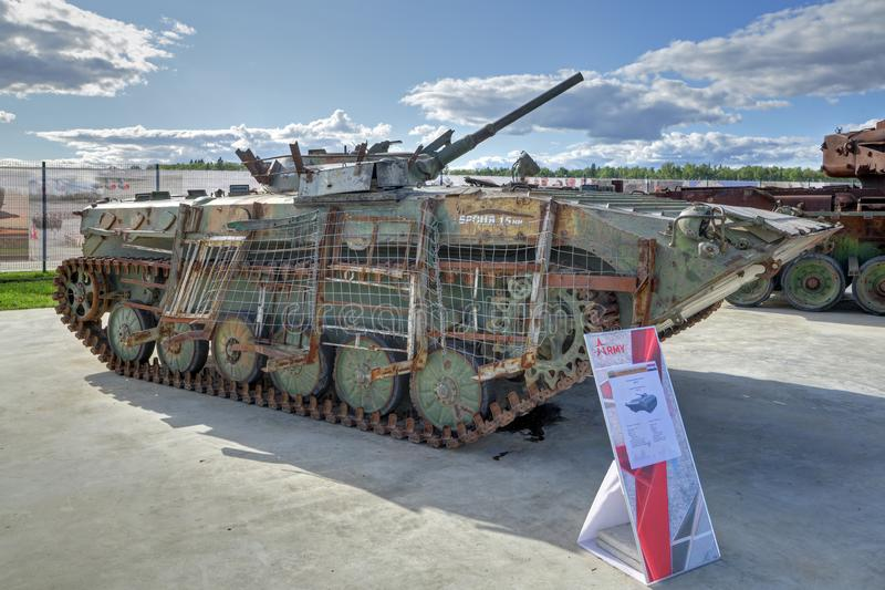 Piechota pojazd bojowy BMP-1 zdjęcie stock