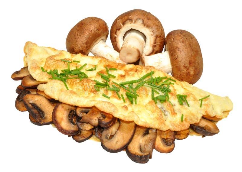 Pieczarkowy Omelette obrazy stock