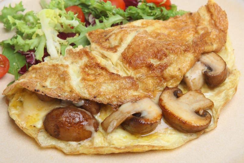 pieczarkowy sera omlet zdjęcia royalty free