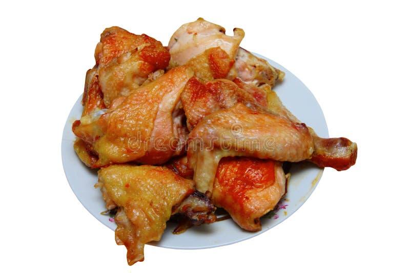 pieczeń z kurczaka obrazy royalty free