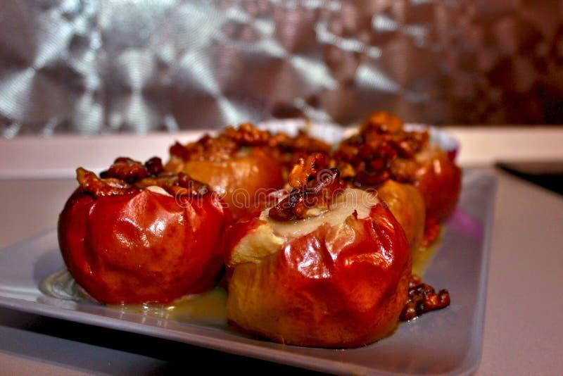 pieczone jabłko zdjęcie stock