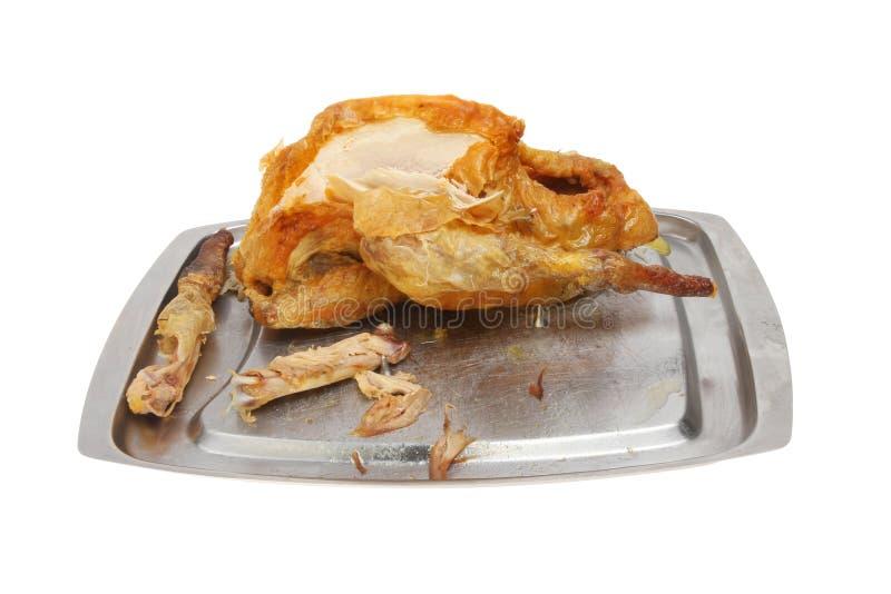 Pieczony gwinei ptactwo zdjęcie stock