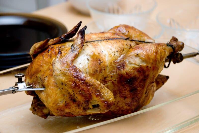 pieczony kurczak zdjęcie stock