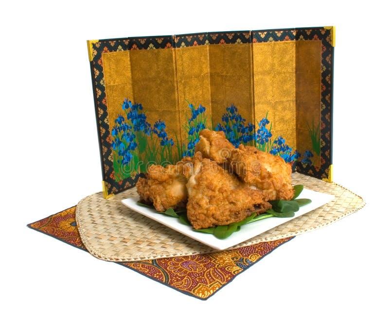 pieczony kurczak obrazy royalty free