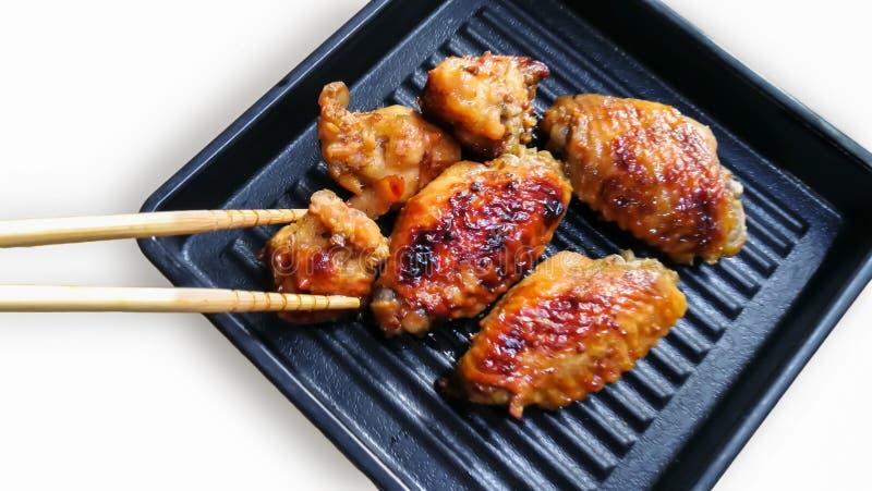 Pieczony Kurczak, kurczaka mi?so, jedzenie, Tajlandia, Azja fotografia stock