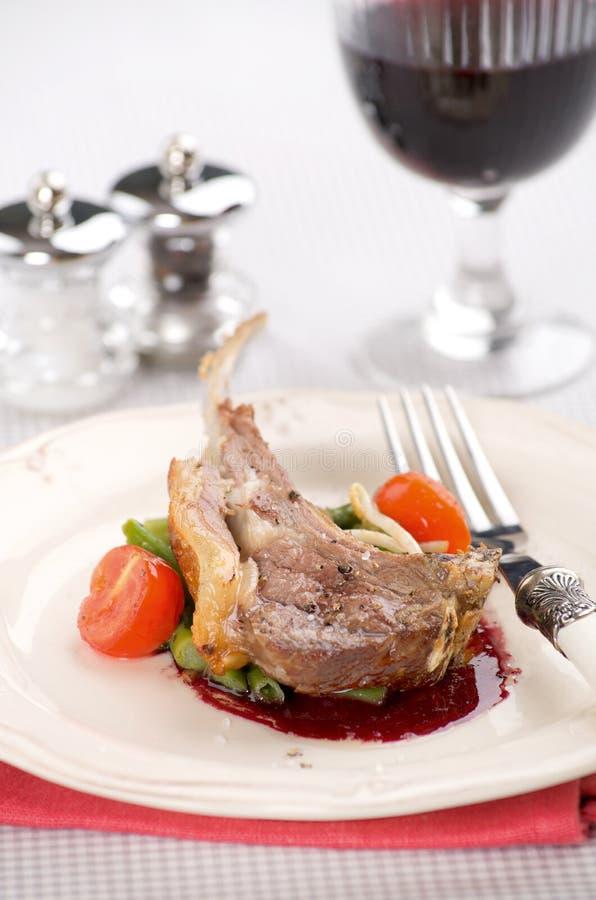 Pieczony mięso obrazy royalty free