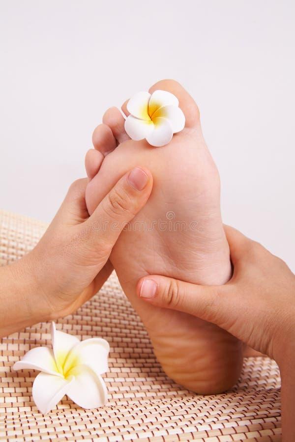 Pied de massage image stock