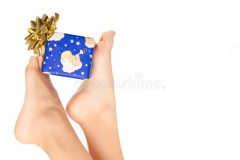 Pied de Noël photographie stock