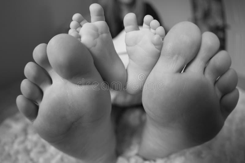 Piedi del bambino fotografie stock libere da diritti