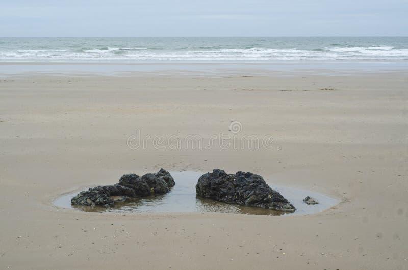 Piedi di pietra di Giants in Galles fotografia stock