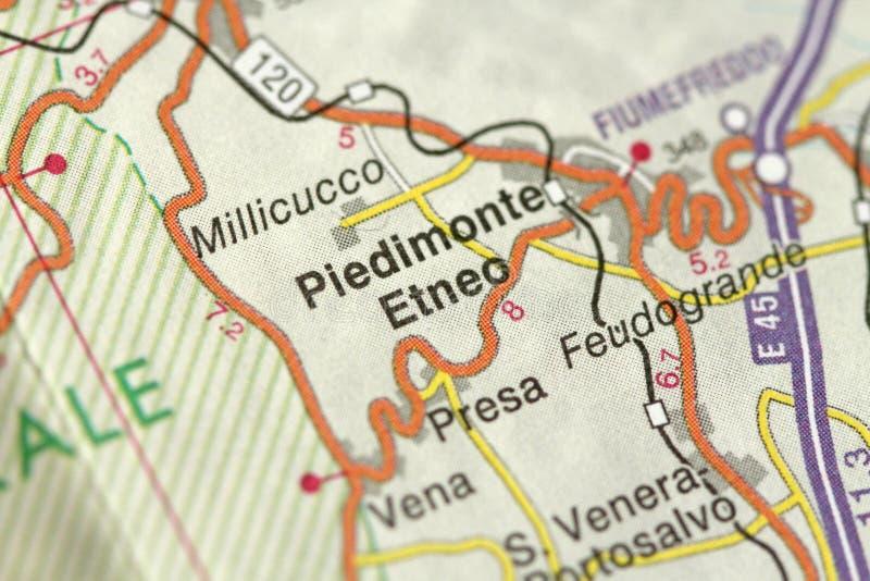 Piedimonte, Sicily, Italy Stock Image. Image Of Medieval
