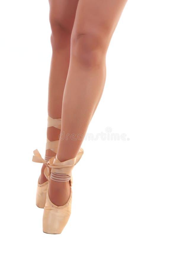 Piedini di balletto fotografia stock