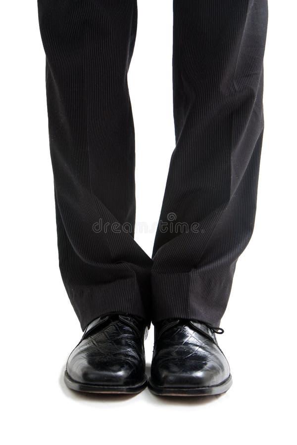 Piedini e piedi di affari fotografie stock libere da diritti