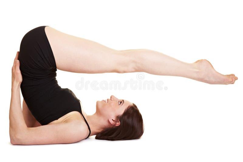 Piedini, sedere ed esercitazione dei tums fotografia stock