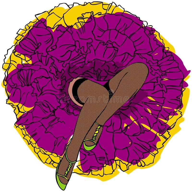 Download Piedini Womanish illustrazione di stock. Illustrazione di bellezza - 7314664