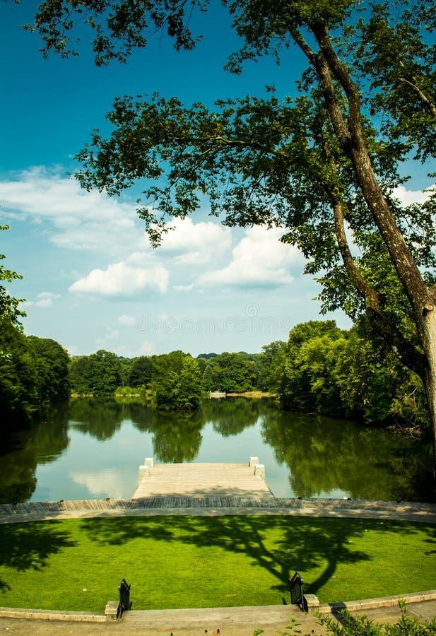 Piedmont πάρκο Ατλάντα στοκ εικόνα