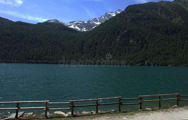 Ceresole reale Piedmont The Gran Paradiso National Park. Cerasole Piedmont Italy lake The Gran Paradiso National Park in French, Parc national du Grand-Paradis stock photos