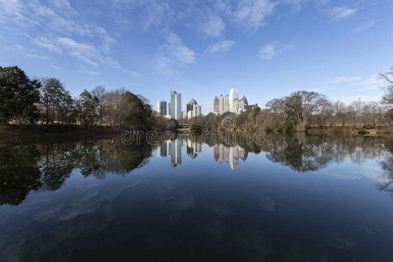 Download Piedmont Park Atlanta stock photo. Image of skyline, scenery - 38085060