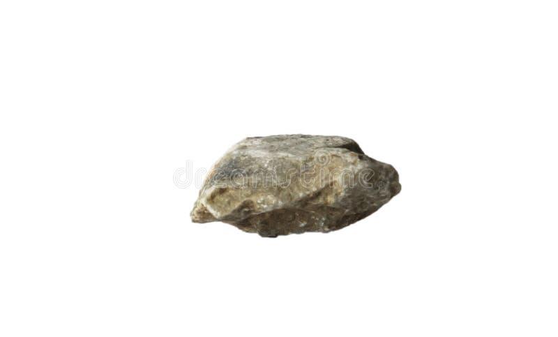 Piedra aislada fotografía de archivo