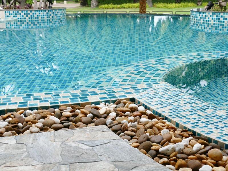 Piedra al borde de la piscina foto de archivo imagen de - Lucia la piedra piscina ...