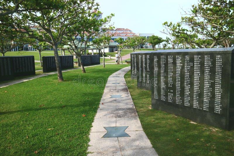 Piedra angular de la paz fotos de archivo libres de regalías