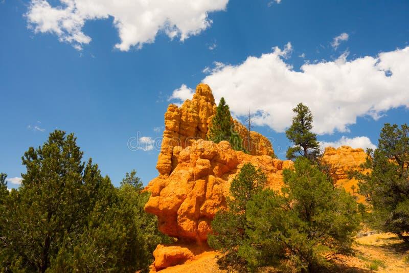 Piedra arenisca colorida en el desierto fotografía de archivo libre de regalías